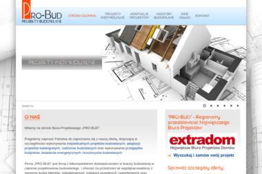 """Biuro Projektowe """"PRO-BUD"""" - Architekt Sierpc"""