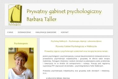 Psycholog Barbara Taller - Psycholog Wałbrzych