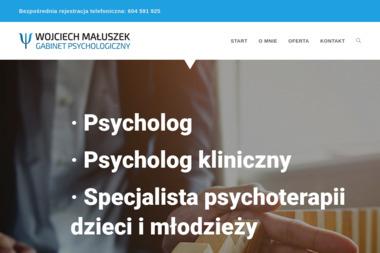 Prywatny Gabinet Psychologiczny mgr Wojciech Ma艂uszek - Psycholog Ostrów Wielkopolski
