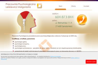 Pracownia Psychologiczna Leśkiewicz Małgorzata - Psycholog Sandomierz