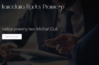 Kancelaria Radcy Prawnego Iwo Michał Ciuk - Windykacja Olecko