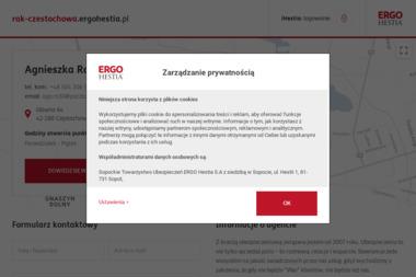 Agencja Ubezpieczeń ERGO Hestia Agnieszka Rak - Ubezpieczenie firmy Częstochowa