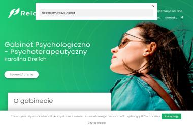 Centrum Pomocy Psychologiczno-Pedagogicznej i Psychoterapii Relacja Karolina Drelich - Psycholog Szczecin