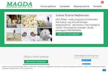 MAGDA - Sprzedaż, szycie i wypożyczalnia sukien ślubnych - Wypożyczalnia sukien Wejherowo
