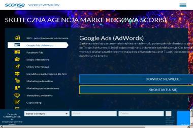 SCORISE Sp. z o.o. - Reklama internetowa Warszawa