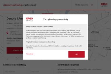 Agencja Ubezpieczeń ERGO Hestia Danuta i Anna Sikorskie - Ubezpieczenie samochodu Ostrołęka