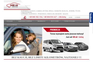 SOLID-CAR - Wypożyczalnia samochodów Katowice
