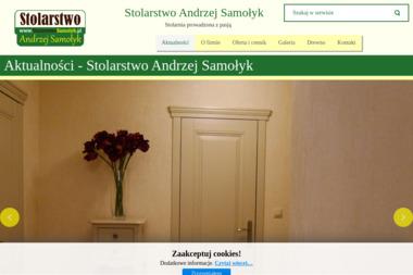 Stolarstwo Andrzej Samołyk - Okna drewniane Dzierżoniów