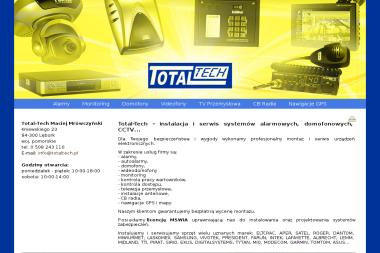 Total-Tech - Alarmy Lębork