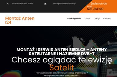 Ustawianie Anten Satelitarnych - Montaż Anteny Siedlce