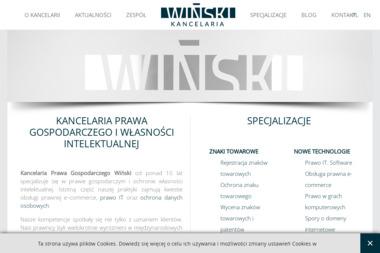Kancelaria Prawa Gospodarczego Wiński - Obsługa prawna firm Wrocław