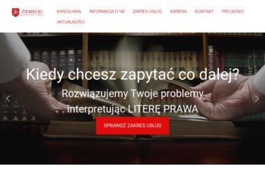 ZIEMECKI KANCELARIA RADCY PRAWNEGO - Usługi Prawne Włocławek