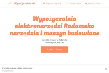 Wypożyczalnia elektronarzędzi Radomsko narzędzia i maszyn budowlane - Maszyny budowlane Radomsko