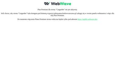 Cargarden - Wypożyczalnia samochodów - Wypożyczalnia samochodów Warszawa