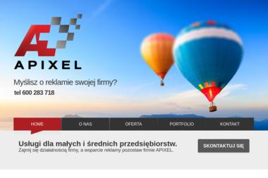 APIXEL - Strony internetowe Gostyń