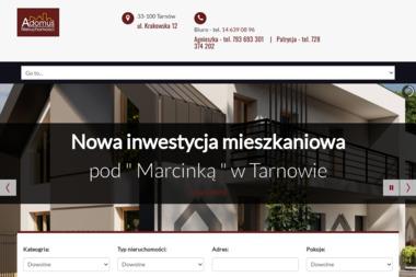 Adomus Nieruchomości - Sprzedaż Domów Tarnów