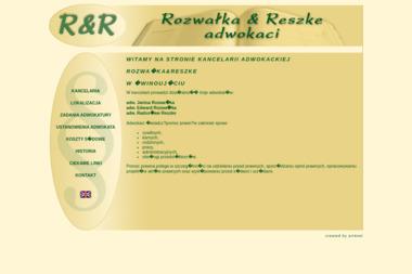 Kancelaria Adwokacka Rozwałka & Reszke - Usługi Prawne Świnoujście