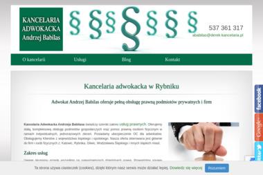 Kancelaria Adwokacka Andrzej Babilas - Kancelaria Prawna Rybnik