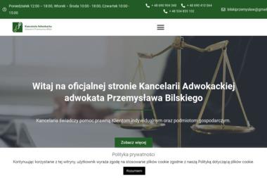 Kancelaria Adwokacka - Adwokat Przemysław Bilski - Adwokat Chrzanów
