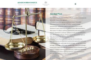 Adwokat Adam Dobrogoszcz - Windykacja Płock