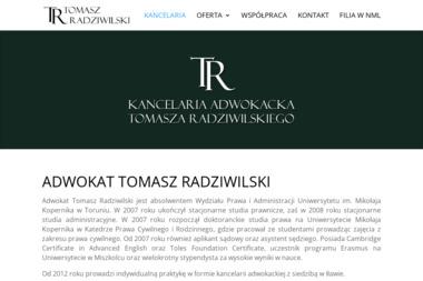 Kancelaria Adwokacka adw. Tomasz Radziwilski - Adwokaci Rozwodowi Iława