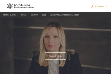 Kancelaria Adwokacka Ewa Kaczorowska Weber - Prawo Rodzinne Konin