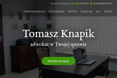 Kancelaria Adwokacka - adwokat Tomasz Knapik - Adwokat Krotoszyn