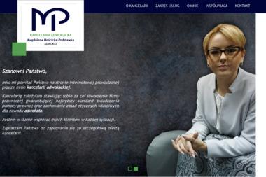 Kancelaria Adwokacka - Adwokat Magdalena Mościcka-Podstawka - Prawo Karne Łuków