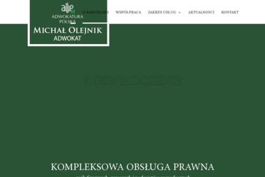 Adwokatura Polska - Michał Olejnik Adwokat - Windykacja Brzeg