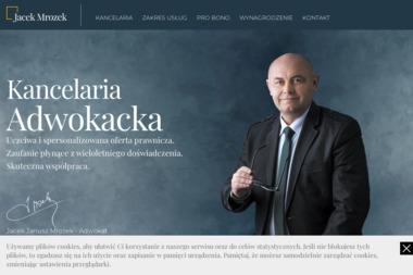 Adwokat dr Jacek Janusz Mrozek - Kancelaria prawna Ełk
