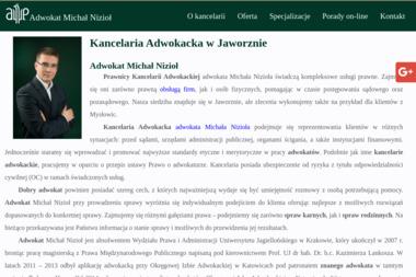 Kancelaria Adwokacka Adwokat Michał Nizioł - Prawo Rodzinne Jaworzno