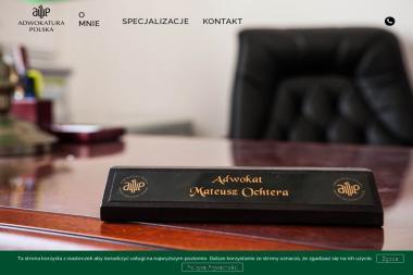 Kancelaria Adwokacka Adwokat Mateusz Ochtera - Kancelaria prawna Suwałki