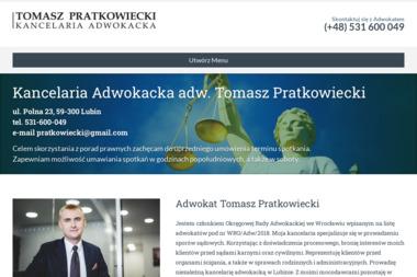 Kancelaria Adwokacka adw. Tomasz Pratkowiecki - Kancelaria Adwokacka Lubin