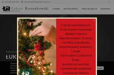 Łukasz Rostankowski Adwokat - Firma Windykacyjna Wałcz