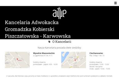 Kancelaria Adwokacka Gromadzka Kobierski Piszczatowska - Windykacja Wysokie Mazowieckie