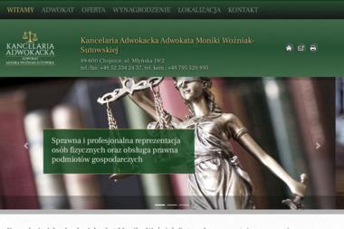 Kancelaria Adwokacka Adwokat Monika Woźniak-Sutowska - Adwokat Chojnice