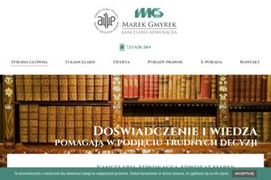 Kancelaria Adwokacka Adwokat Marek Gmyrek - Adwokat Racibórz
