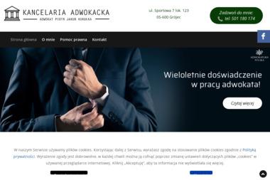 Kancelaria Adwokacka Adwokat Piotr Jakub Kukułka - Usługi Prawnicze Grójec