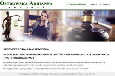 Ostrowska Adrianna - Adwokat - Adwokat Jarosław
