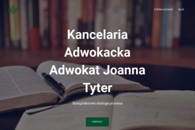 Adwokat Joanna Tyter - Porady Prawne Mielec