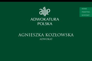 Adwokat Agnieszka Kozłowska - Adwokat Jastrzębie-Zdrój