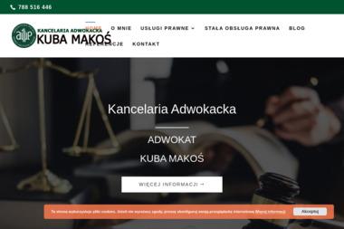 Kancelaria adwokacka Kuba Makoś - Adwokat Ostrołęka