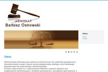 Adwokat Bartosz Ostrowski - Prawo Rodzinne Skoczów