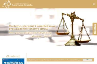 Kancelaria Adwokacka - Adwokat Katarzyna Bogacka - Windykacja Strzelce Opolskie
