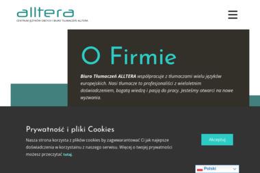 ALLTERA - Biuro Tłumaczeń Rawicz