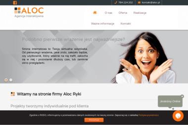 ALOC - Strony internetowe Ryki
