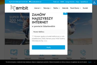 Ambit Systemy Informatyczne - Internet Lubartów