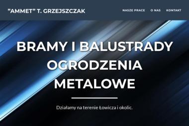 """P.P.H-U """"AMMET"""" - Ogrodzenia Łowicz"""