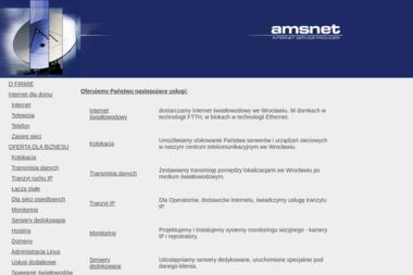 AMSNET - Internet Wrocław