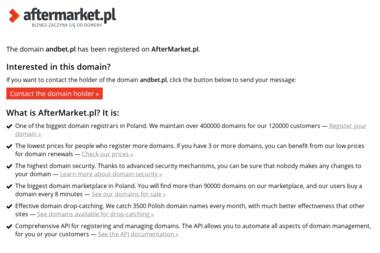 And-Bet Andrzej Szaniawski - Firma Ogrodzeniowa Lubsko